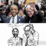 Cartoonist Takes on Bernie Sanders, Al Sharpton