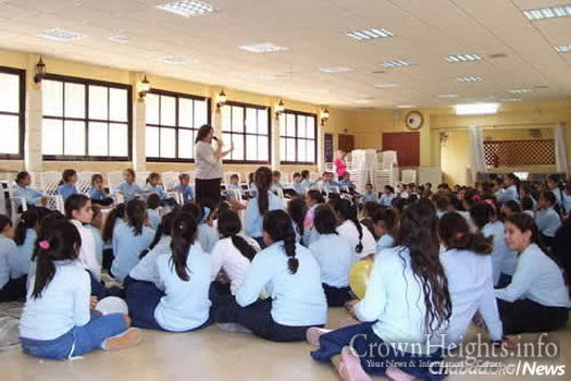 Dozens of Chabad-Lubavitch schoolgirls answer the call each year to work as volunteer counselors in hospital wards.