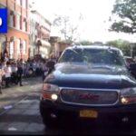 Video: Campers Pelt 'Netanyahu's Car' with Eggs