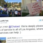 L.A. Chabad Center Honors Police and Firefighters