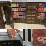 Artist Creates Miniature Replica of the Rebbe's Room