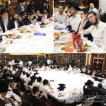 Photos: First Farbrengen of Tishrei