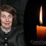 Boruch Dayan Hoemes: Mrs. Rachel Zippel, 90, OBM