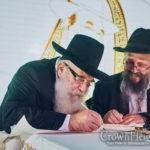 Torah Being Written in Honor of 'Tzadik of Leningrad'
