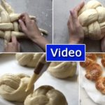 Video: How to Braid Round Challahs