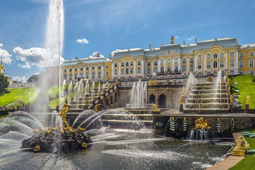 Palace of the Czars in St. Petersburg