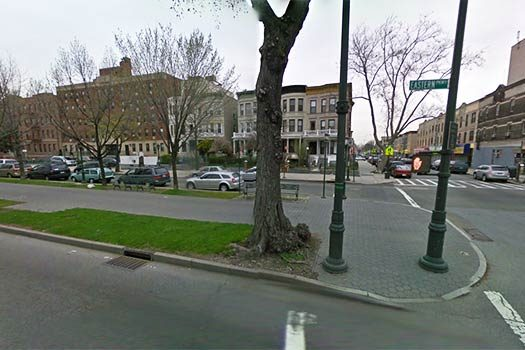 Eastern Parkway near Troy Avenue. Illustration Photo.