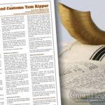 Laws and Customs: Yom Kippur