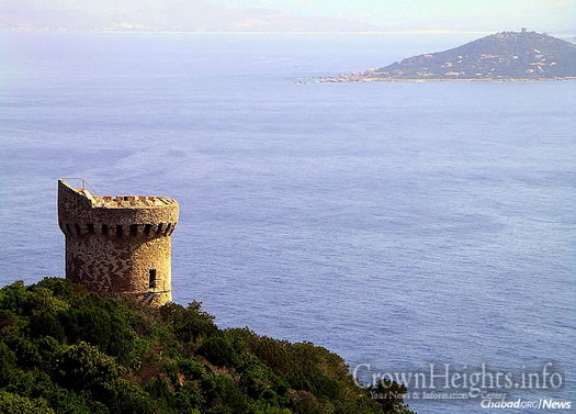 Towers were erected for Corsica's protection. Nationalist sentiment has surged and died on the island since its independence in 1729, which lasted until France took control in 1768.