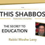 Shabbos at the Besht: The Secret to Education