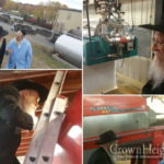 Photos: Rabbi Osdoba Inspects Winery