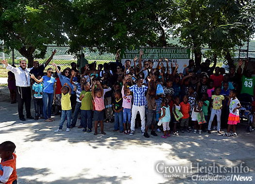 """""""We are so appreciative; the community was head-over-heels about this event,"""" said a local leader in the Montego Bay area."""