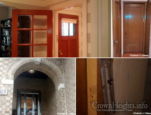 Chabad.org writer Menachem Posner tells of the fixation that Chicago architects had with doors back in the 1920s when his house was built ... & From Door to Door: A High Holiday Mezuzah Check \u2022 CrownHeights.info ...