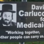 Campaign Signs Paint Orthodox Jews as Welfare Leeches