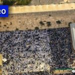 Video: Birchas Kohanim at the Western Wall