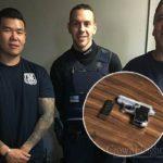 Suspected Car Burglar Found in Possession of Loaded Handgun