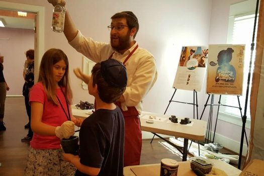 Rabbi Levi Mentz educates Jewish children in Forsyth County, Georgia.