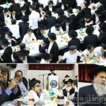 Grand Welcome for the Rebbe's Guests