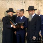 Russian Prime Minister Visits the Western Wall