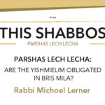 Shabbos at the Besht: Are the Yishmielim Obligated in Bris Mila