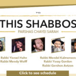 Shabbos at the Besht: Chayei Sarah