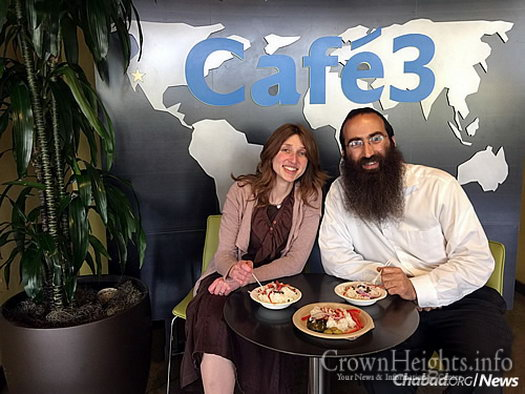 Chabad emissaries Rabbi Gil and Bracha Leeds are graduates of Berkeley, though back when they attended, kosher food was nowhere to be found. The presence of the café benefits students, visitors and the local community.