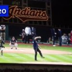 Video: Lubavitcher Throws First Pitch
