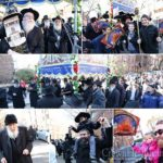 Gutnick Family Welcomes Torah in Mother's Memory