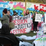 Students Protest Chabad on Campus 'Peace Wall'