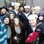 Picture of the Day: Sailor's Bar Mitzvah in Times Square