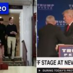 Videos: Ivanka Prays, Donald Saved