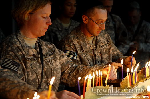 The Aleph Institute has launched an effort asking Jewish day schools and community organizations across the United States to collect Chanukah gifts for children of those serving in the U.S. military, and/or send menorahs, candles, dreidels and chocolate coins directly to military personnel. The drive also applies to children of incarcerated Jewish men and women.