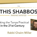 Shabbos at the Besht: Making the Tanya Practical