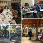 Young Shluchim Farbreng at West Coast Winter Camp