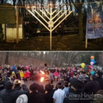 Kew Gardens Celebrates Chanukah in the Park