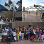 Menorah Lit at Sydney's Iconic Opera House