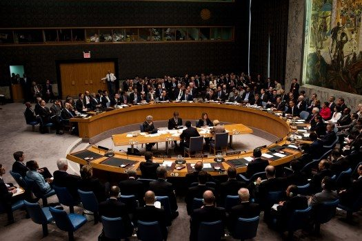 Illustration photo: Barack Obama chairs a United Nations Security Council meeting.