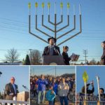 Record Crowds at New Jersey's Largest Menorah