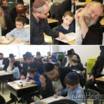 Montreal Fathers Join Sons for Day at Cheder
