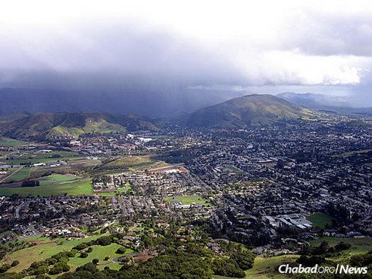 The city of San Luis Obispo, Calif.