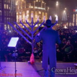 Menorah Shines Bright in Amsterdam's Dam Square