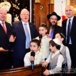 Israeli President Visits Chabad Synagogue in Georgia