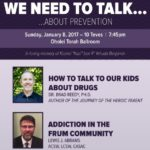 Sunday: Drug Prevention Evening