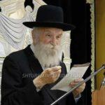 Boruch Dayan Hoemes: Rabbi Meir Tzvi Gruzman, 83, OBM