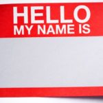 Weekly Thought: What's in a Name?