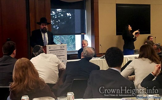Rabbi Levi Shemtov, executive vice president of American Friends of Lubavitch (Chabad), addressed audiences on Feb. 2 at the seventh annual Jewish Disability Advocacy Day on Capitol Hill in Washington, D.C.