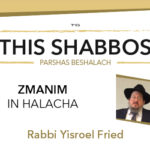 Shabbos at the Besht: Zmanim in Halacha