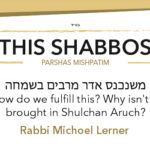 Shabbos at the Besht: Increasing in Simchah