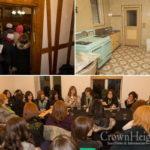 Photos: Shluchos Visit Rebbe's Study and Home