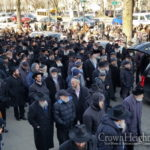 Photos: Many Attend Levaya of Beloved Musician
